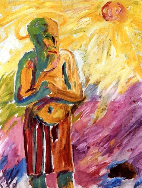 Emil Nolde Saint in the Desert 1911