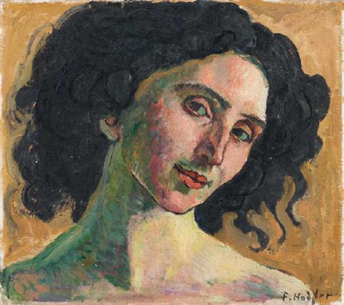 Ferdinand Hodler Portrait of Giulia Leonardi 1910
