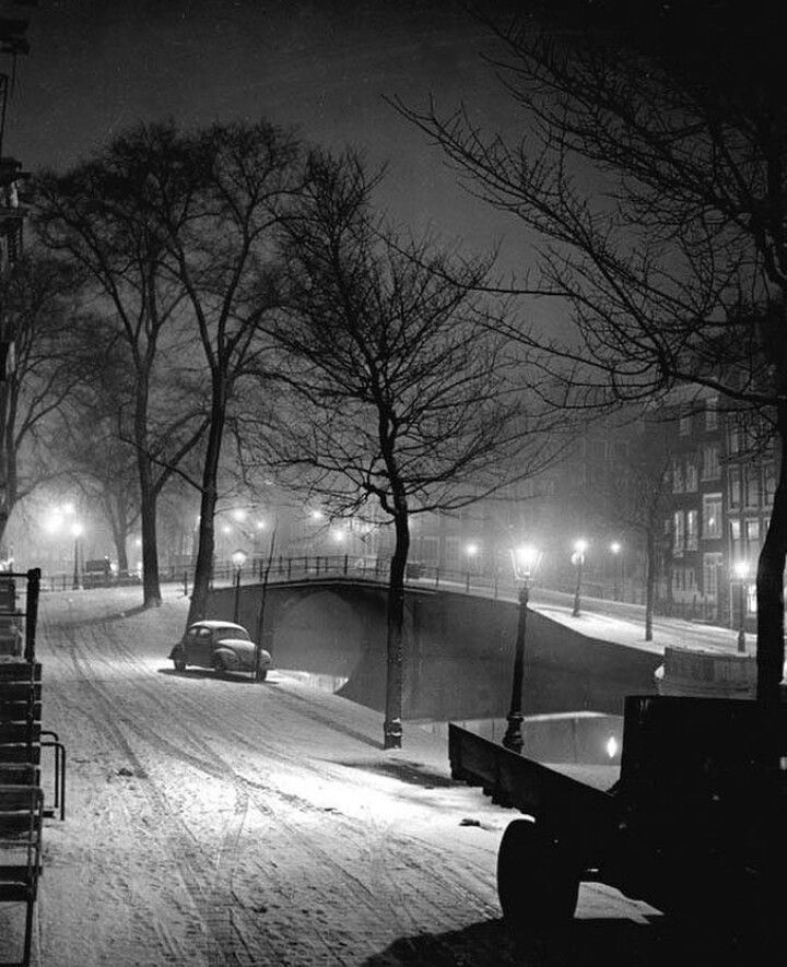kees-scherer-winter-in-amsterdam-1950