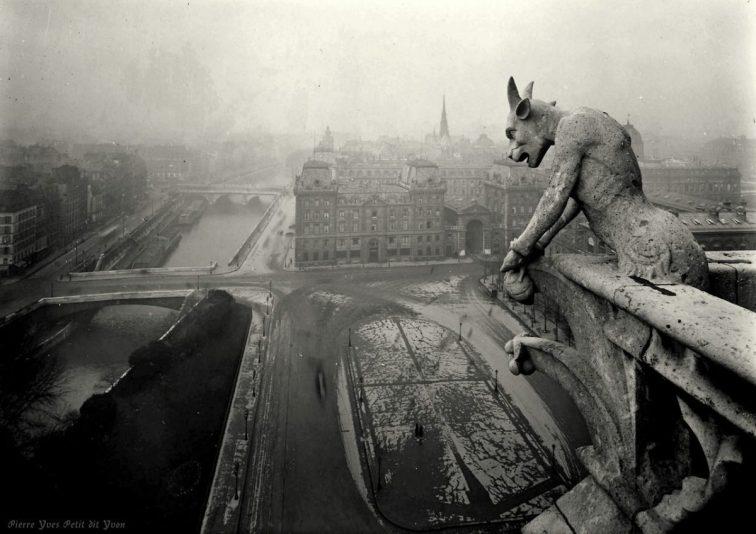 Pierre Yves-Petit, aka Yvon, Notre-Dame Gargoyle, c1920s