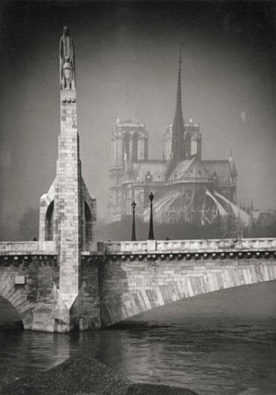 Pierre Yves-Petit, aka Yvon, Ponte Notre-Dame, c1920s